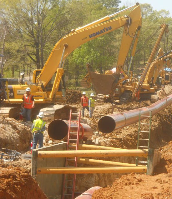 Pipeline Construction | MPG Pipeline Contractors